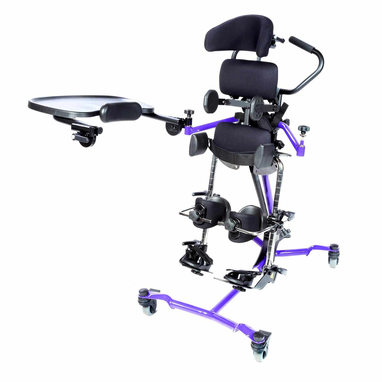 Zing supine stander - Mast with leg abduction