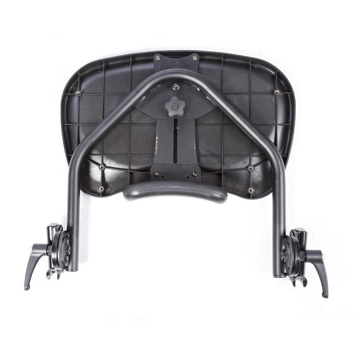 Black molded swing-away tray for bantam