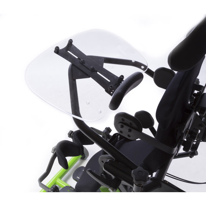 Easystand clear swing-away tray for bantam stander