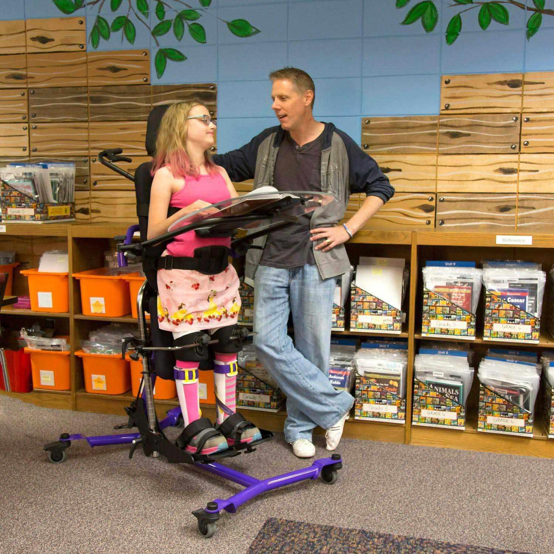 Zing Size 2 Supine Special Needs Stander