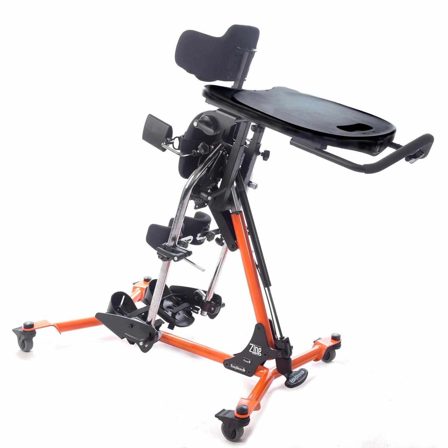 Zing size 2 prone stander - Gas spring lift