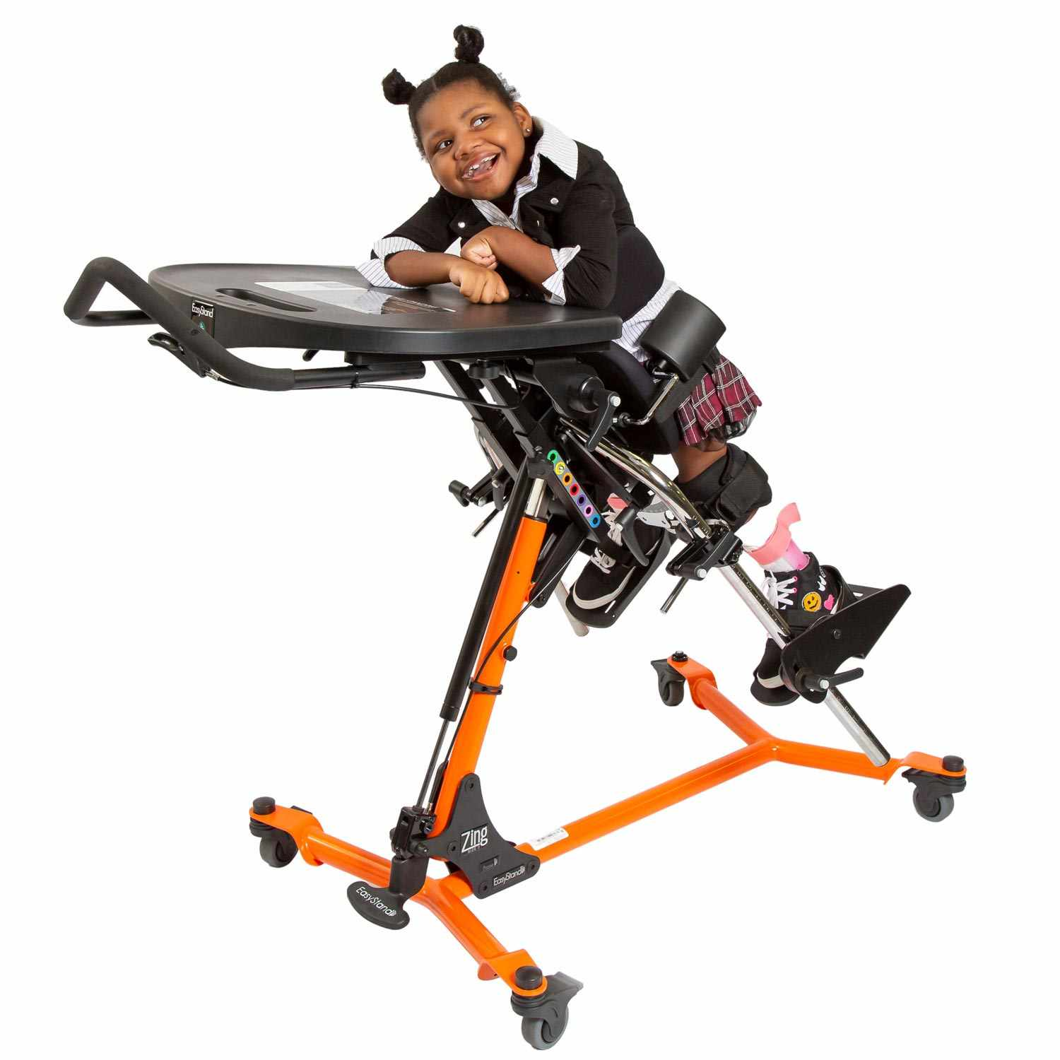 Zing size 2 prone stander - Pow'r up lift