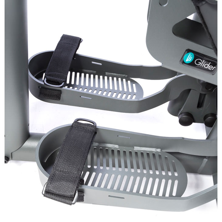 Easystand foot straps for standers