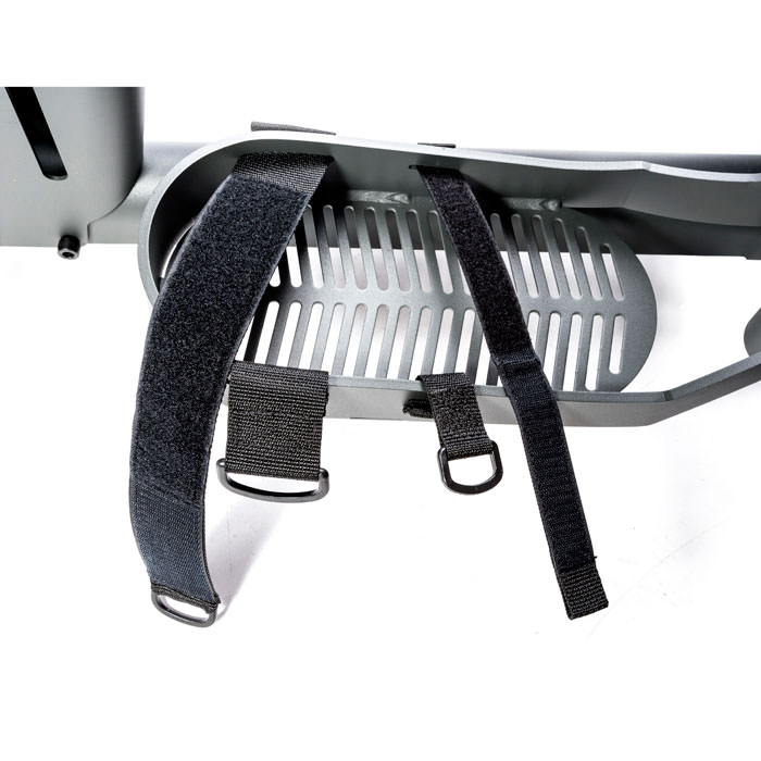 Secure foot straps for eaystand standers