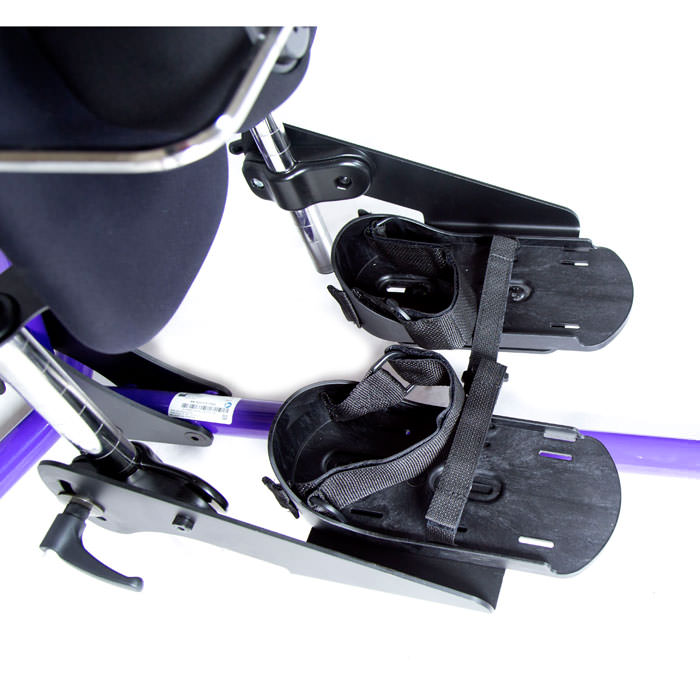 Easystand secure foot straps (two pair) with velcro and D-ring