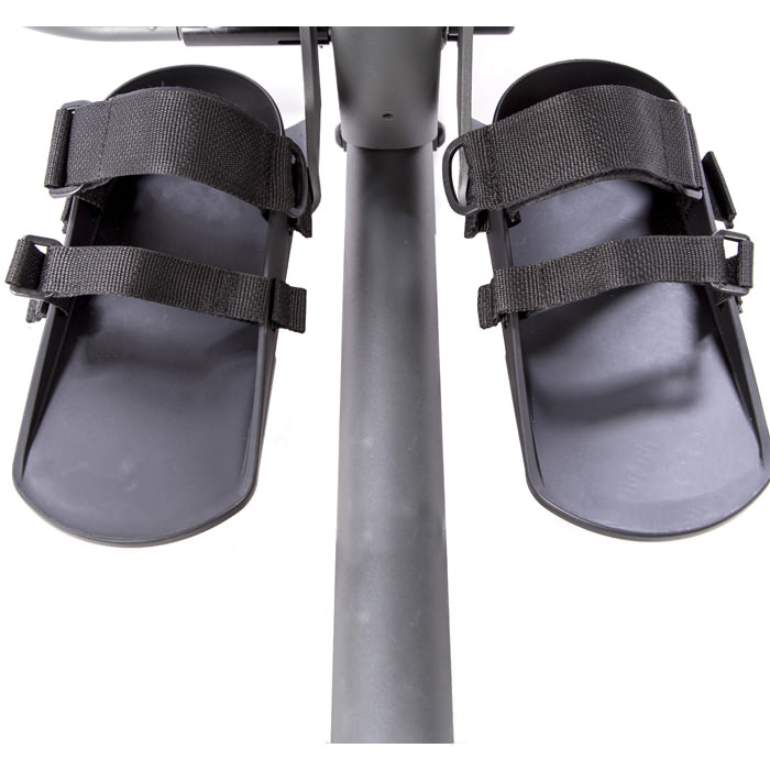Easystand secure foot straps for standers