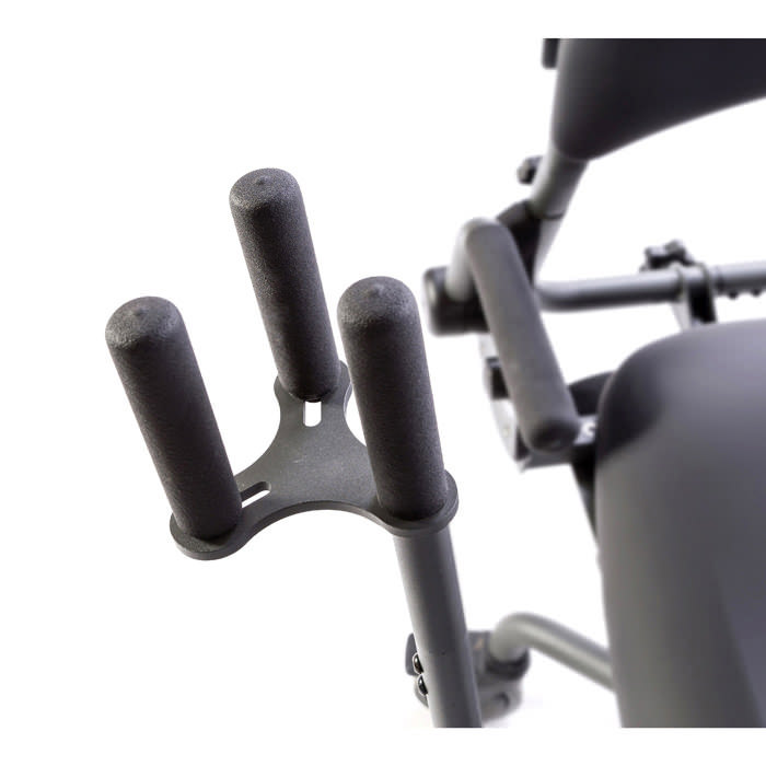 Quad grip handle extension for easystand standers