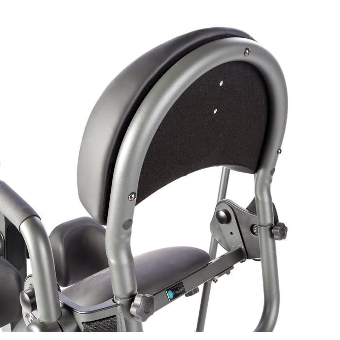 Easystand removable contoured back for glider and evolv