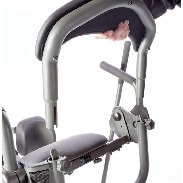 Easystand removable back frame