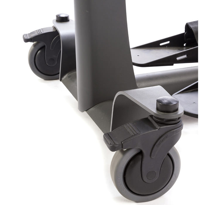 Easystand front swivel casters for evolv