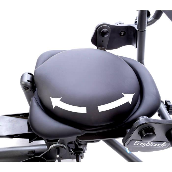 Easystand rotating seat for evolv medium