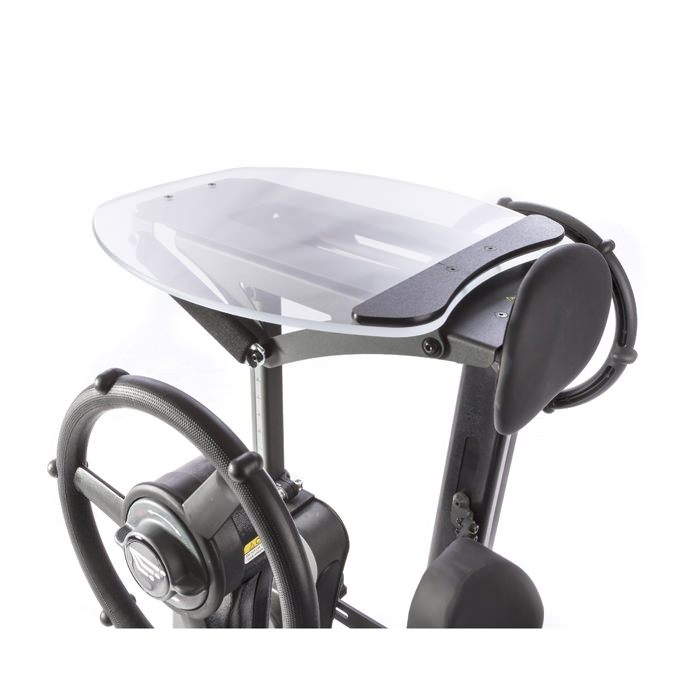Easystand clear angle adjustable tray for mobile for evolv