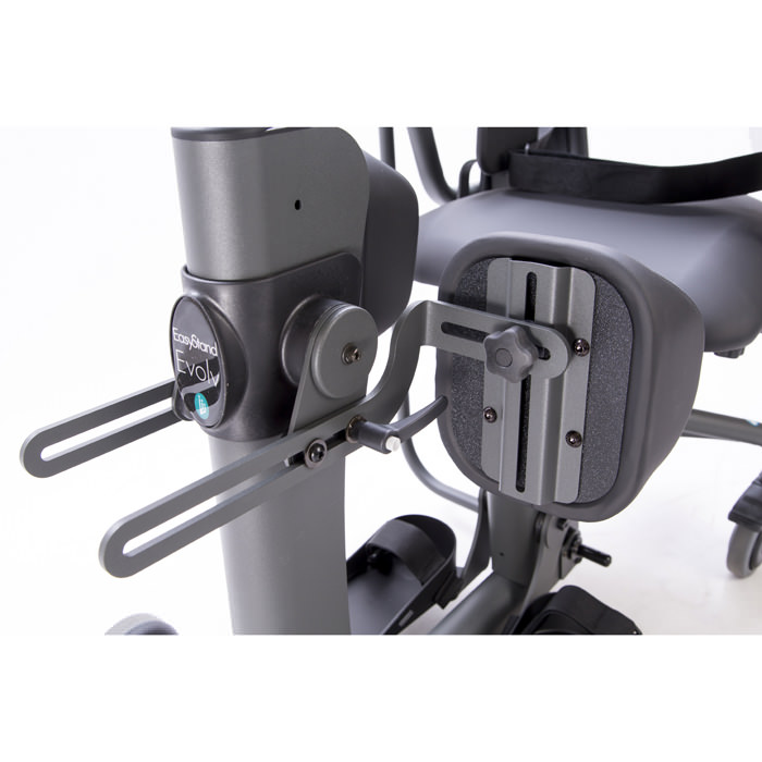 Independent knee pads for evolv stander - Mounting