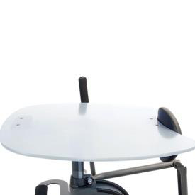 Easystand clear tray for strapstand