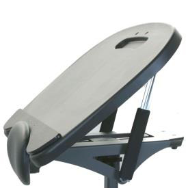 Easystand black molded angle adjustable tray for strapstand