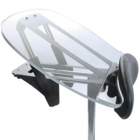 Easystand clear angle adjustable tray for strapstand