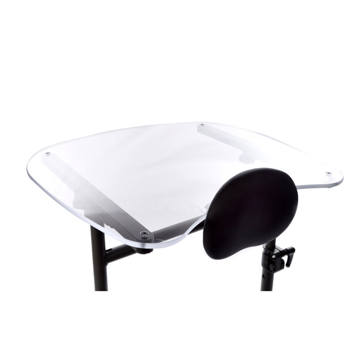 Easystand clear tray for swing-away for evolv medium and large
