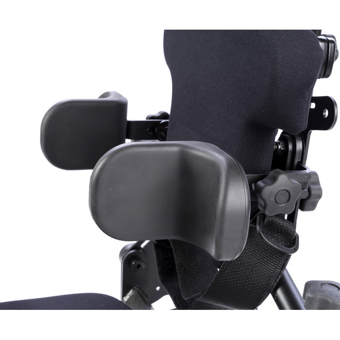 Easystand lateral supports with elbow stop for bantam