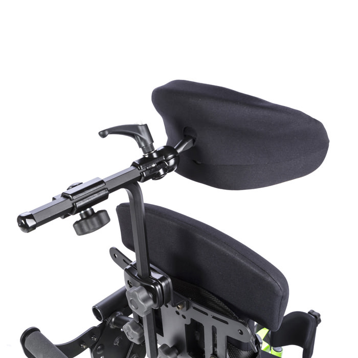 Form to fit head support for bantam - Mounting