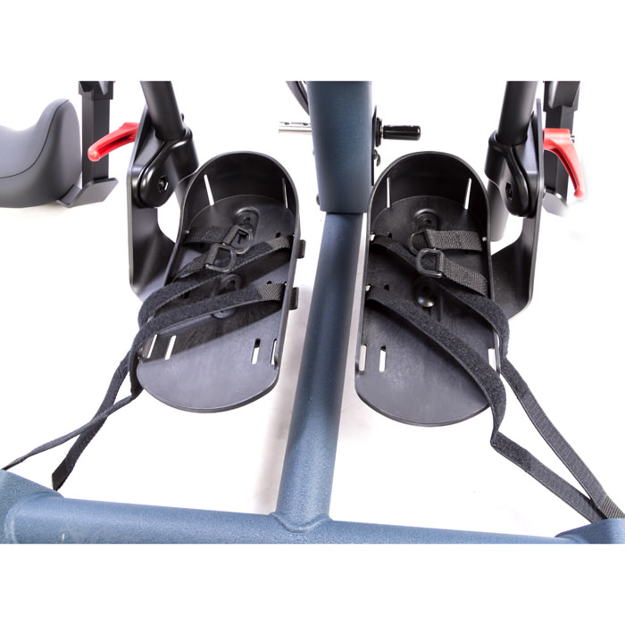 Easystand secure foot straps with D-ring adjustment