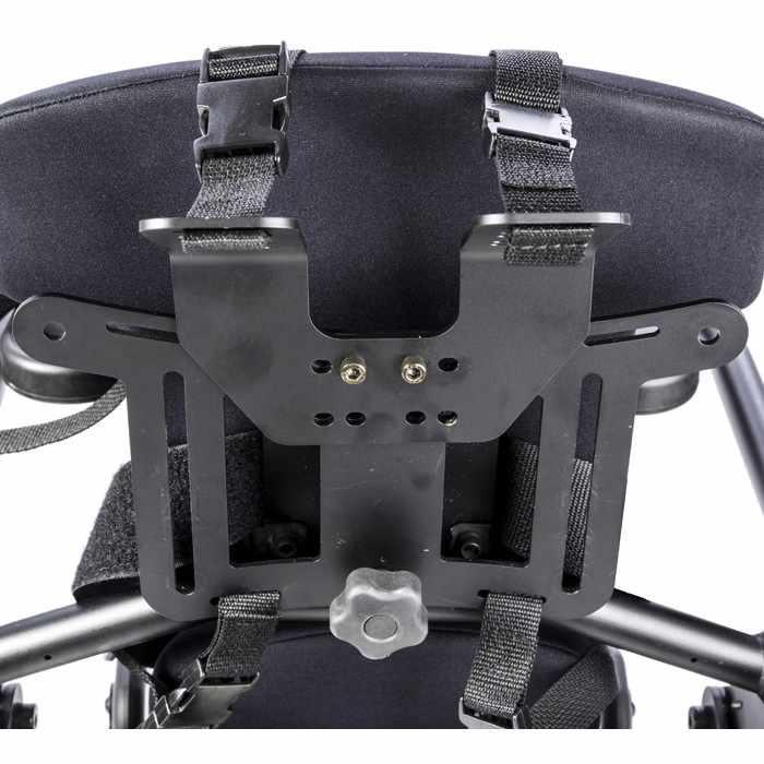 High mount chest vest bracket for bantam stander