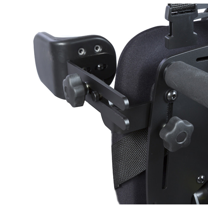 Easystand lateral supports with elbow stop for bantam medium