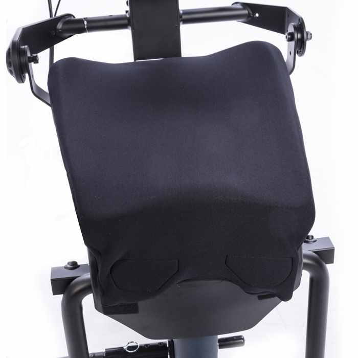 Easystand contoured seat with form-to-fit upholstery for bantam