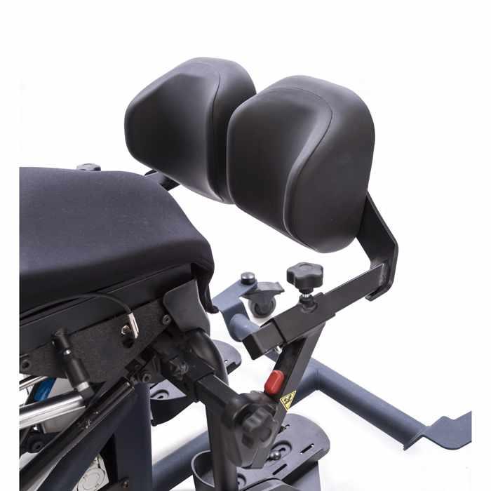 Swing-away knee pads for bantam medium stander