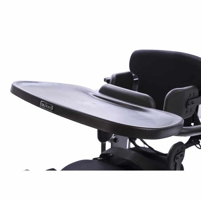 Black molded adjustable tray for bantam medium