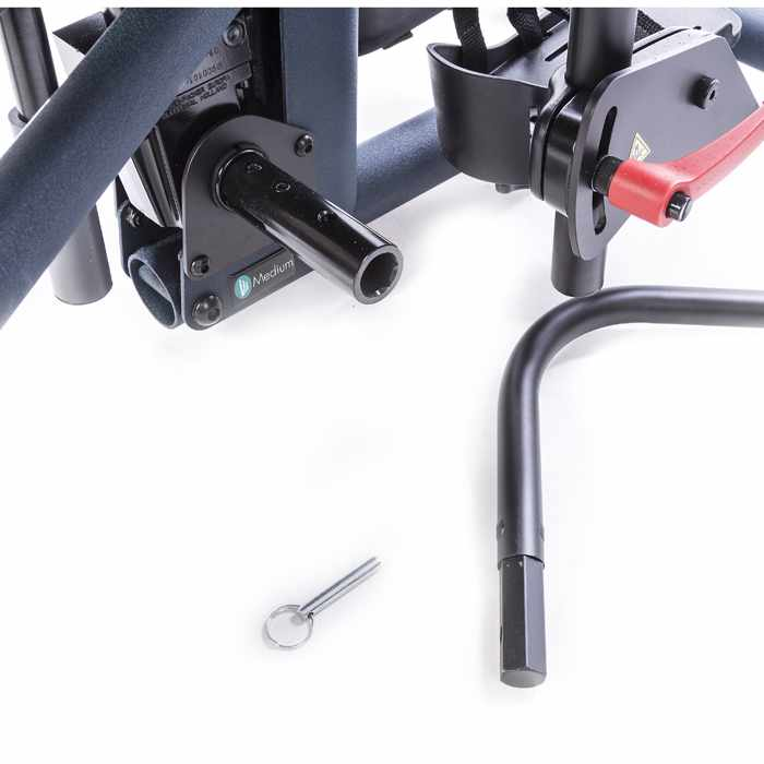 Adjustable/removable actuator handle installation