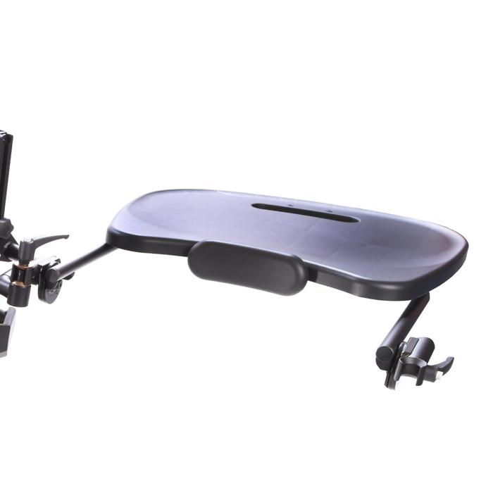 Easystand black molded swing-away tray for bantam medium