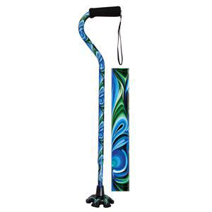 Essential Medical Couture Offset Fashion Walking Cane