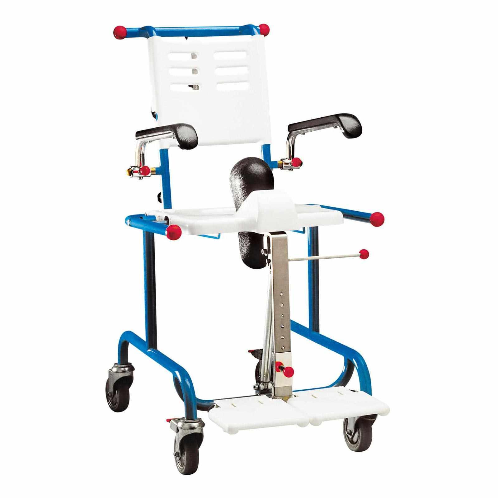 Etac Tripp tiltable shower commode chair
