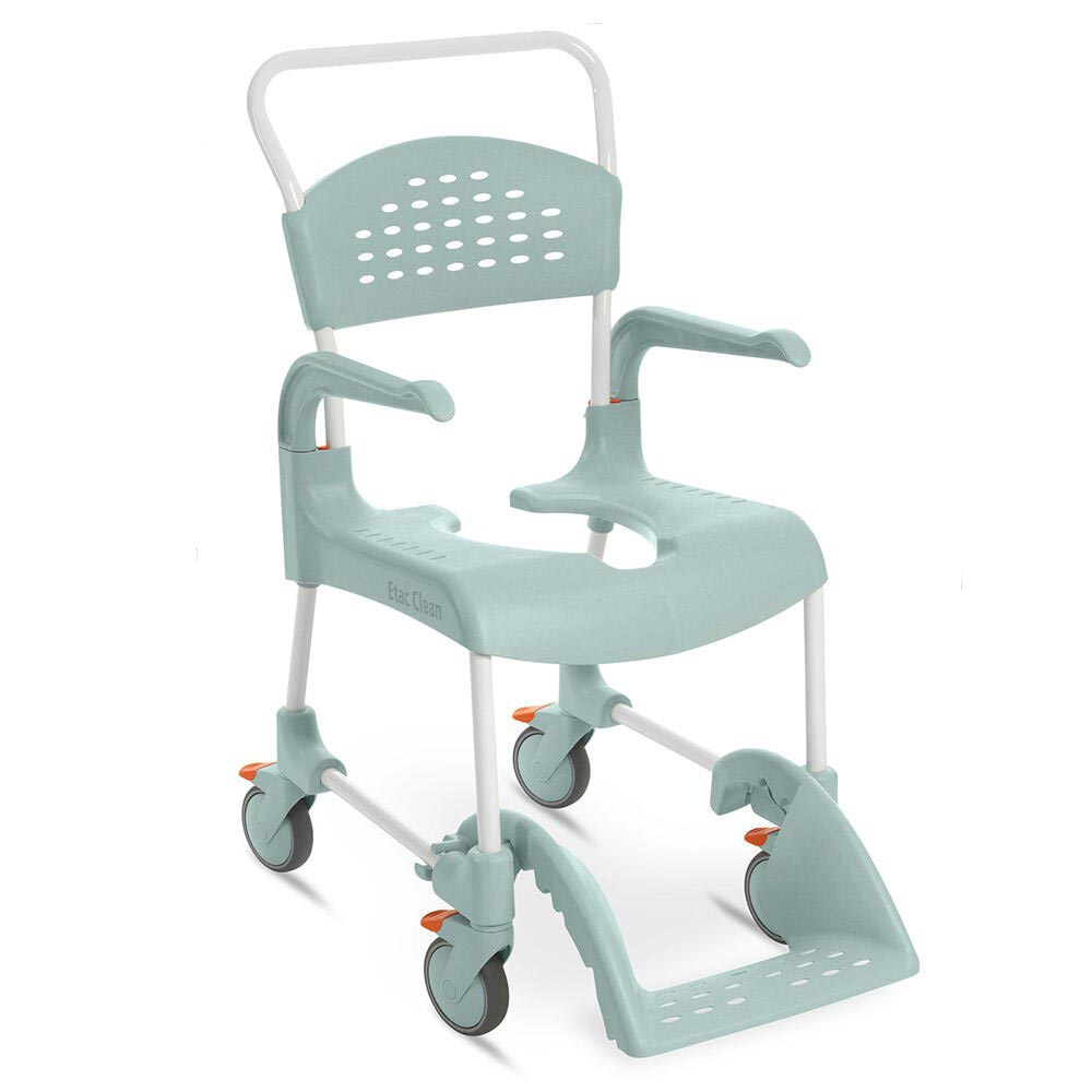Etac Clean mobile shower commode chair
