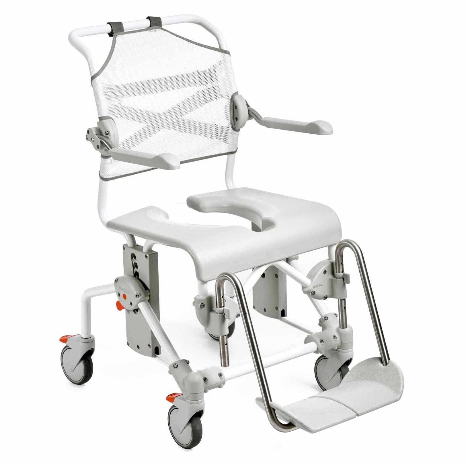Etac Swift Mobile shower commode chair