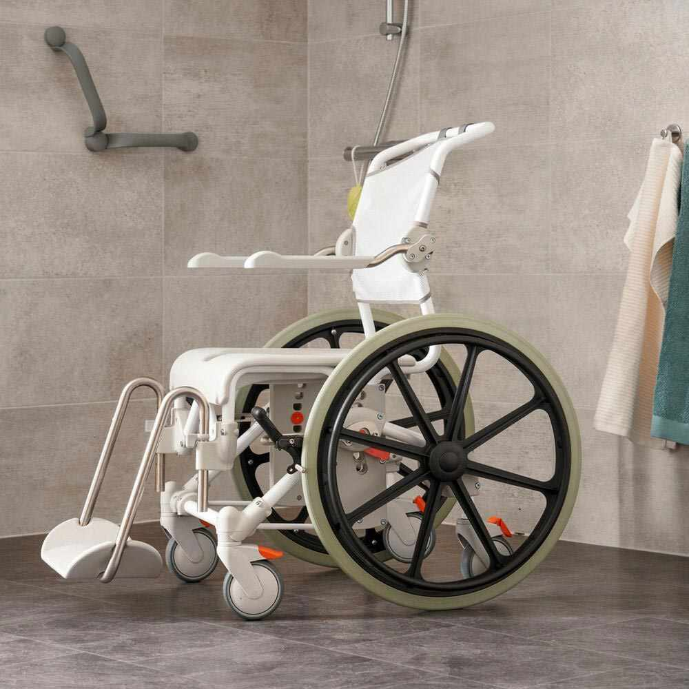 Etac Swift Mobile shower commode chair