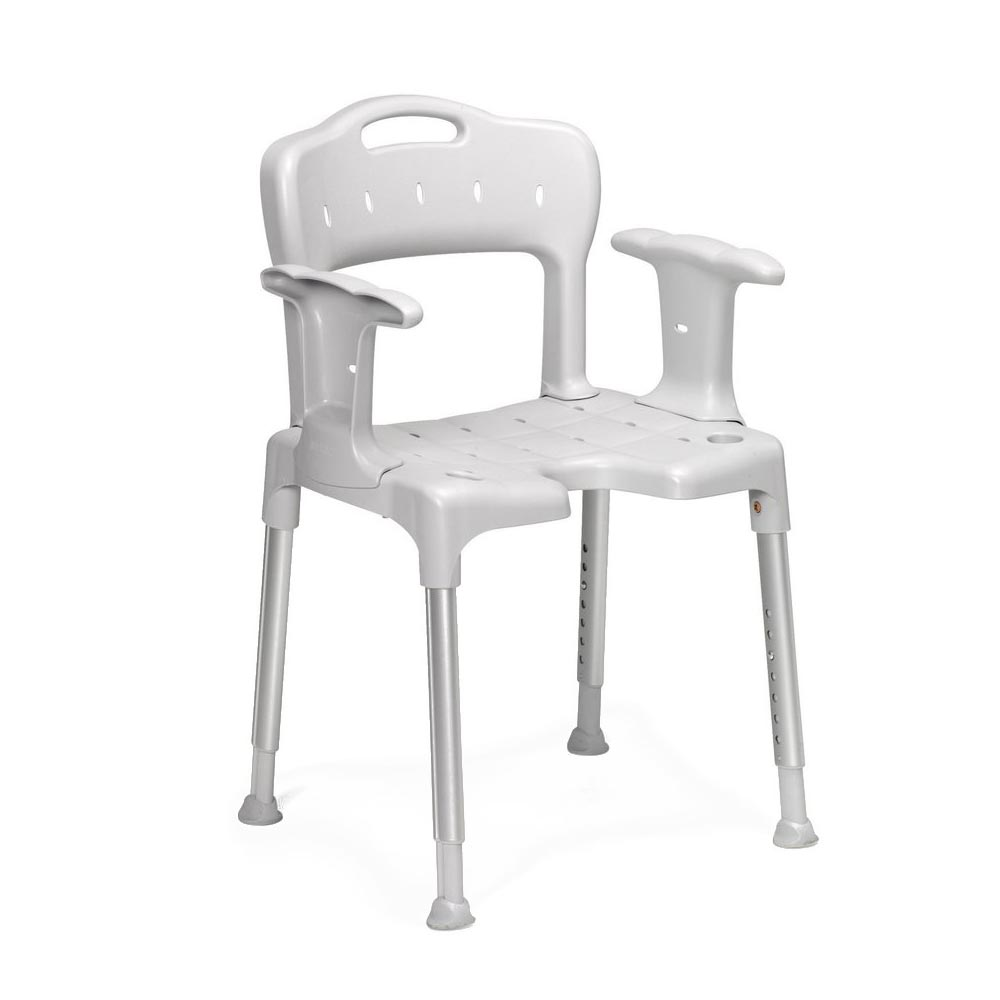 Etac Swift shower chair with arm supports