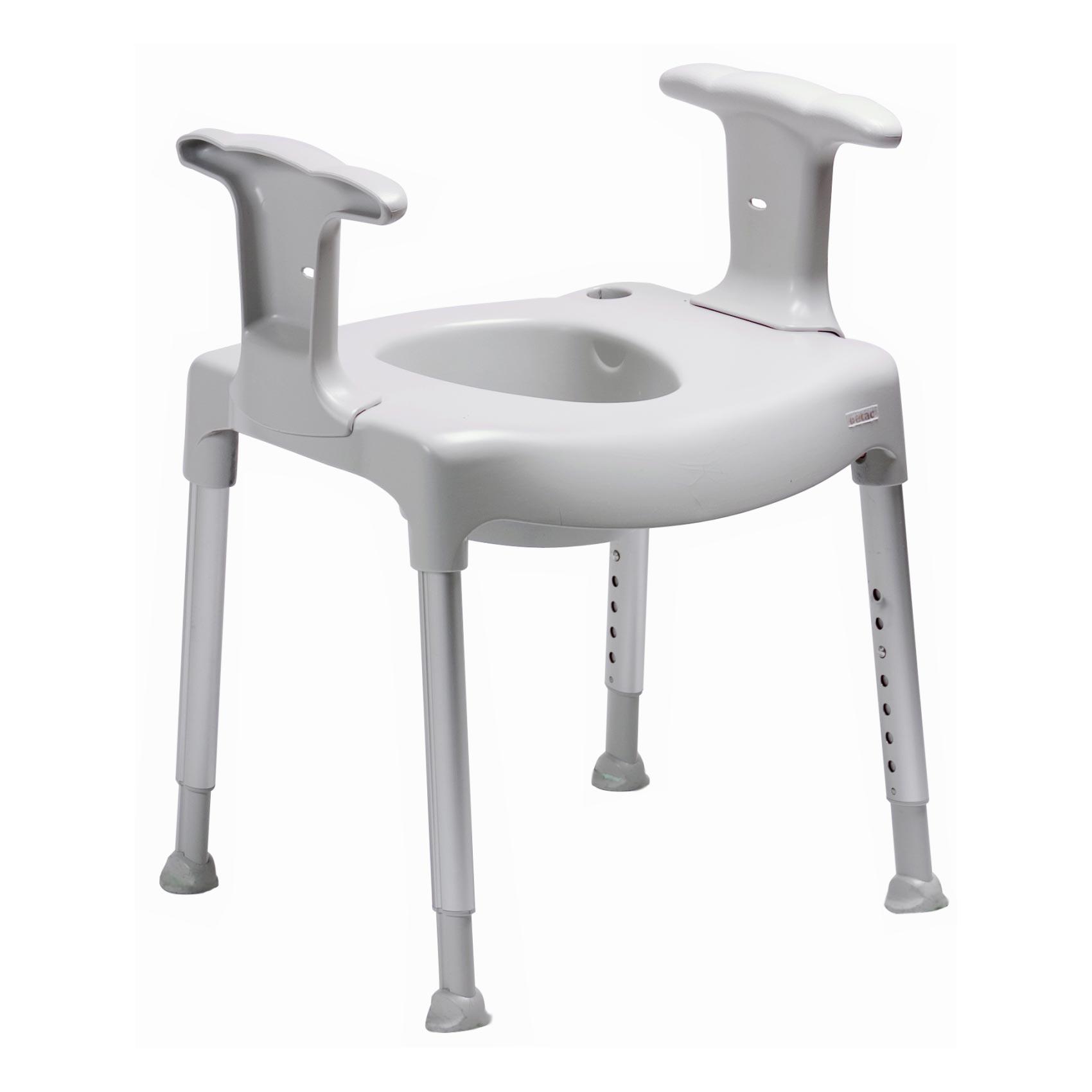 Etac Swift freestanding toilet seat raiser