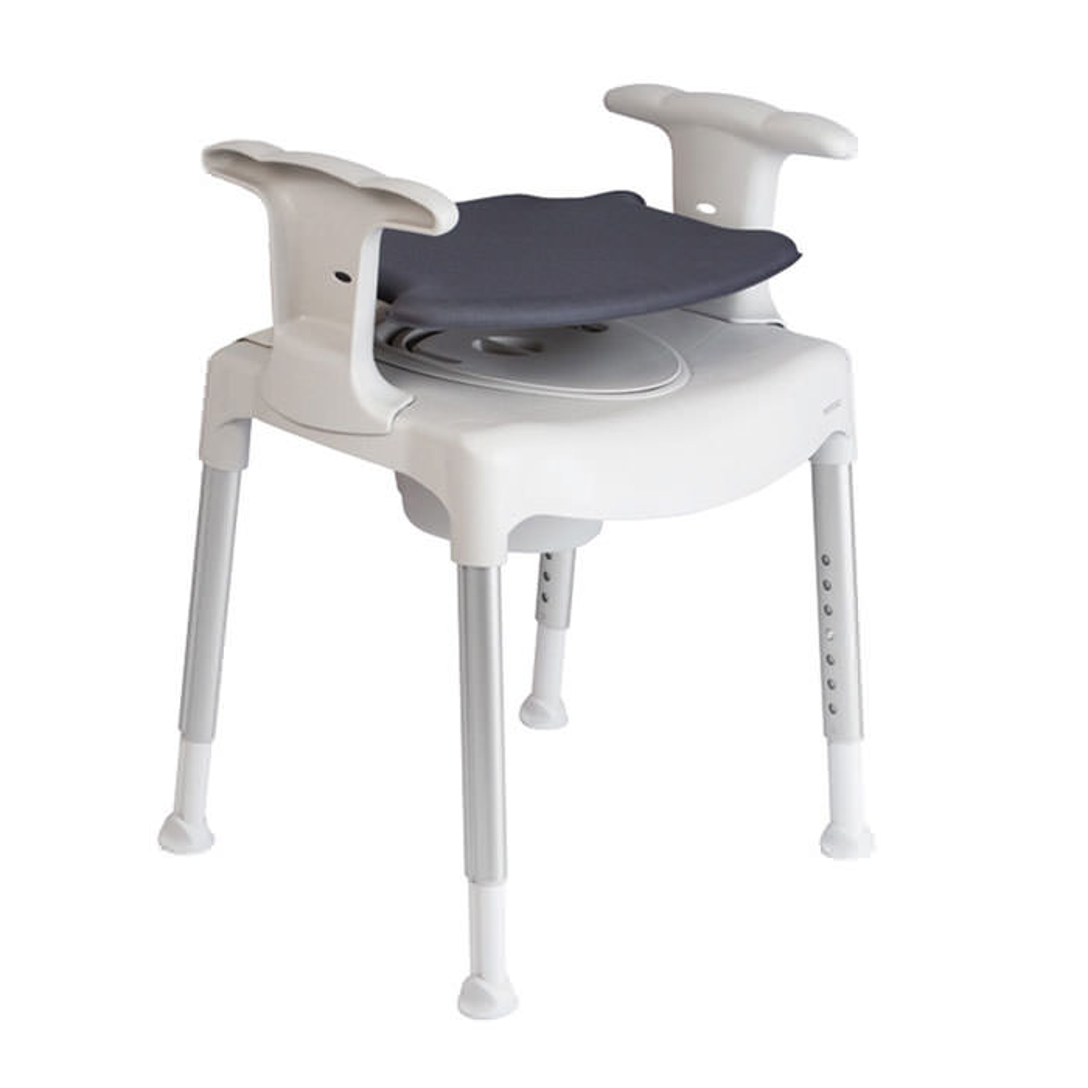 Swift freestanding toilet seat raiser