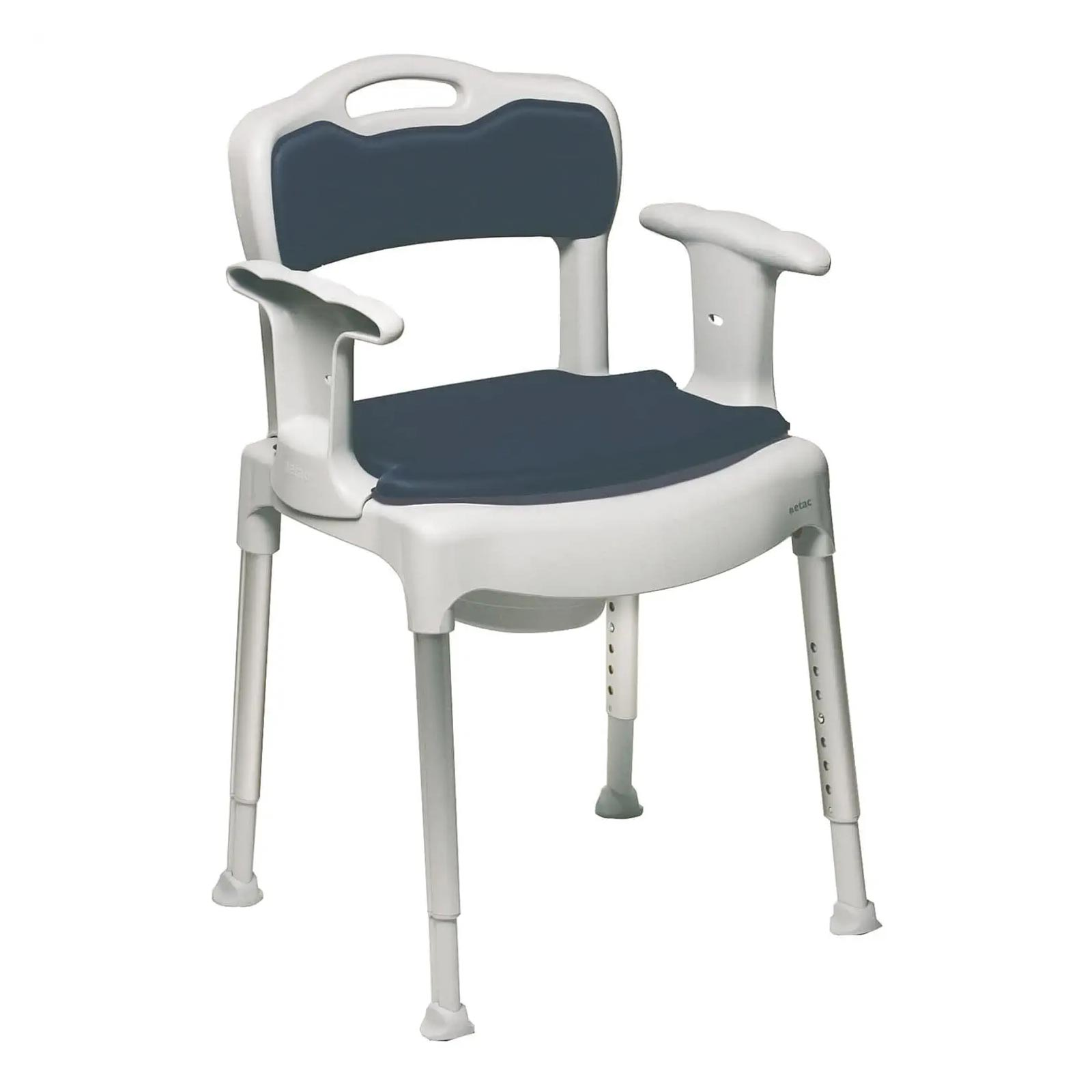 Etac swift commode chair etac commode chair - Relooker chaise paille ...