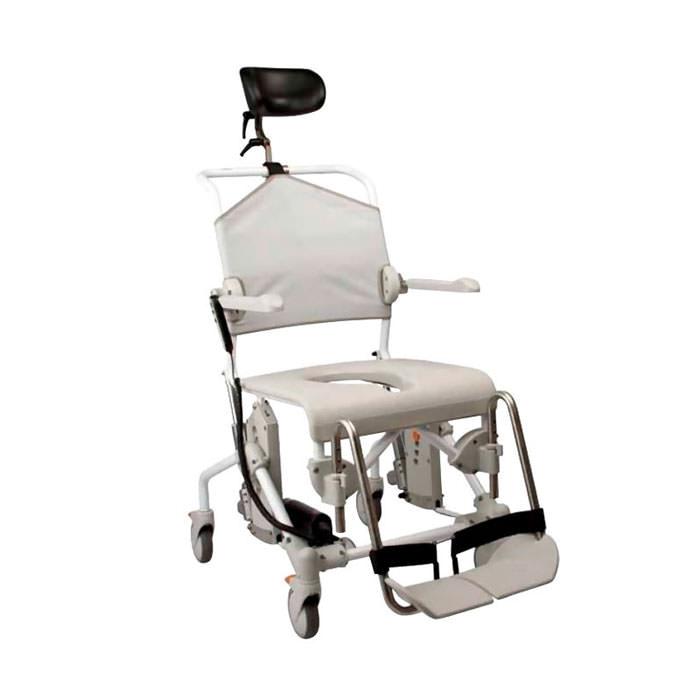 Etac Swift Mobile Tilt Shower Commode Chair With Motor   Medicaleshop