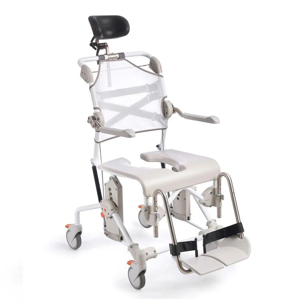 Etac Swift Mobile tilt shower commode chair