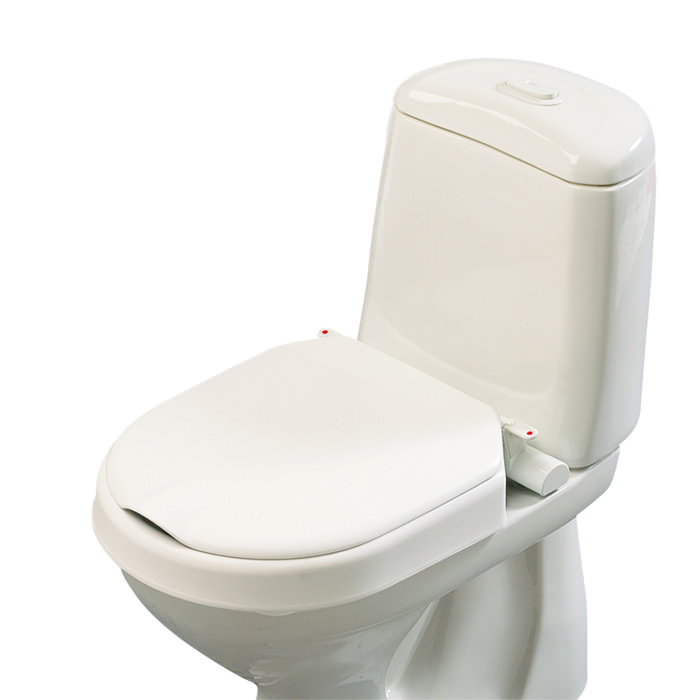 Etac Hi-Loo fixed raised toilet seat