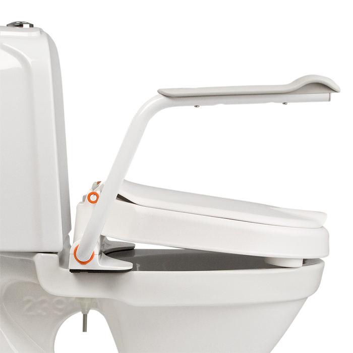 Hi-Loo fixed raised toilet seat