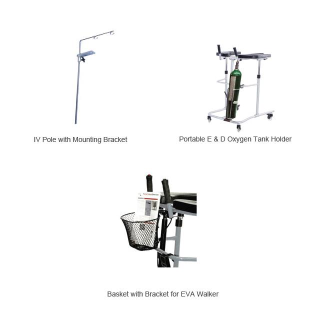 Eva pneumatic support walker accessories