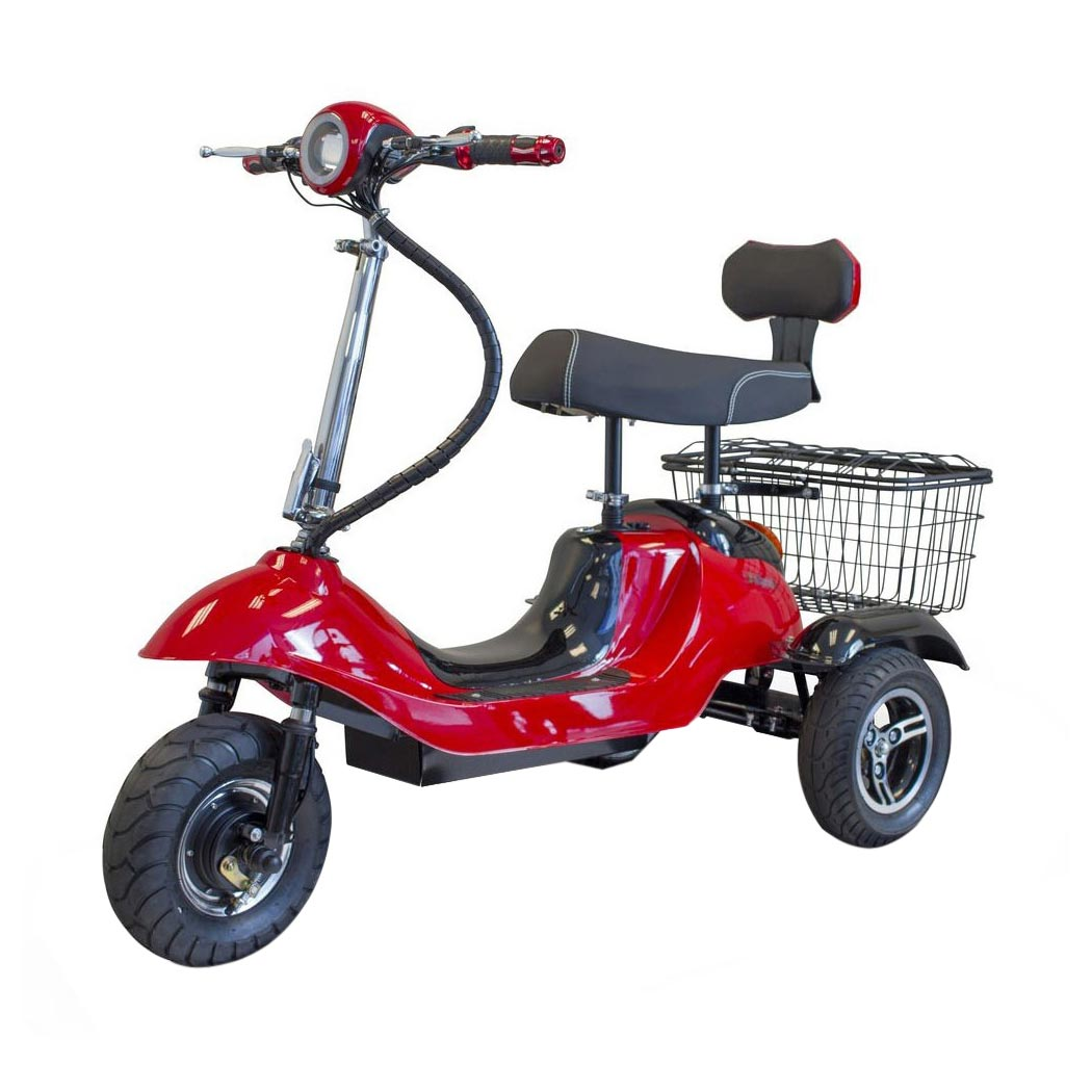 EWheels EW-19 Sporty 3 wheel mobility scooter