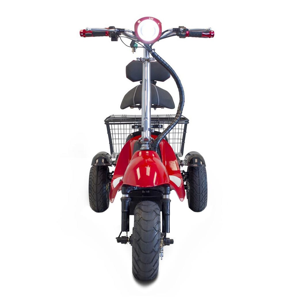 EWheels EW-19 Sporty three wheel scooter - Front view