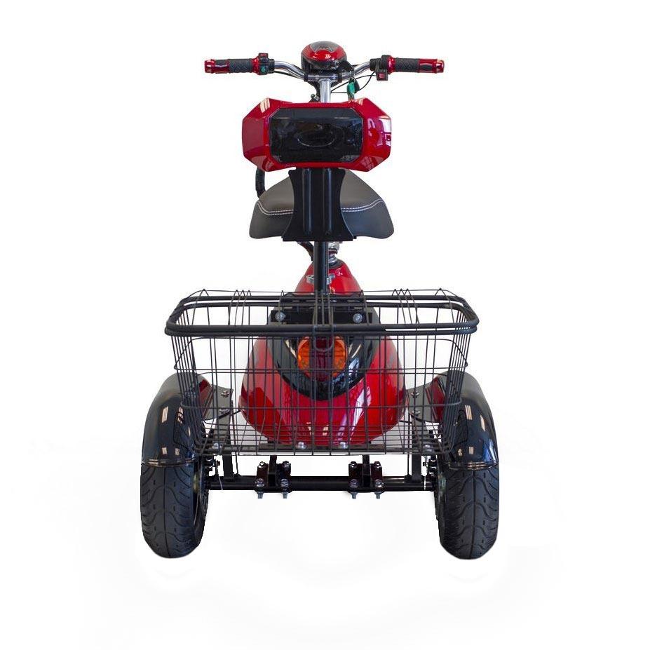 EWheels EW-19 Sporty three wheel mobility scooter - Back view
