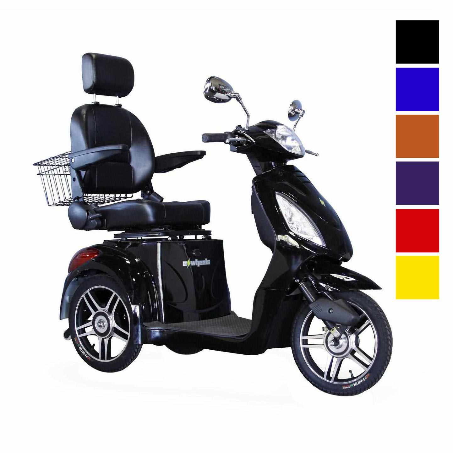 E-Wheels EW-36 High Power Fast Mobility Scooter - Black