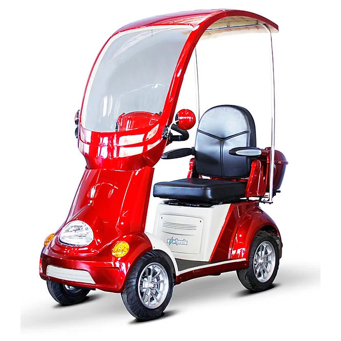 EWheels EW-54 Four wheel scooter - Red